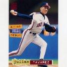 1994 Stadium Club Baseball #128 Julian Tavarez RC - Cleveland Indians