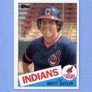 1985 Topps Baseball #637 Brett Butler - Cleveland Indians