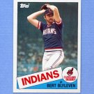 1985 Topps Baseball #355 Bert Blyleven - Cleveland Indians