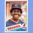 1985 Topps Baseball #237 Julio Franco - Cleveland Indians