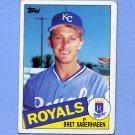 1985 Topps Baseball #023 Bret Saberhagen RC - Kansas City Royals