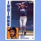 1984 Topps Baseball #789 Bert Blyleven - Cleveland Indians