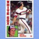 1984 Topps Baseball #518 Greg Walker - Chicago White Sox