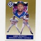 1991 Ultra Gold Baseball #08 Kirby Puckett - Minnesota Twins