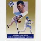1991 Ultra Gold Baseball #07 Ramon Martinez - Los Angeles Dodgers