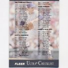 1991 Ultra Baseball #400 Nolan Ryan CL - Texas Rangers