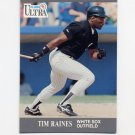 1991 Ultra Baseball #081 Tim Raines - Chicago White Sox