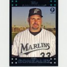 2007 Topps Baseball 1st Edition #616 Fredi Gonzalez MG - Florida Marlins