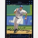 2007 Topps Baseball Red Back #581 Mike Sweeney - Kansas City Royals