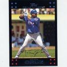2007 Topps Baseball Red Back #564 Nelson Cruz - Texas Rangers