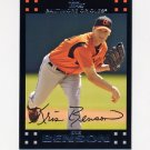 2007 Topps Baseball Red Back #483 Kris Benson - Baltimore Orioles