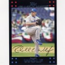 2007 Topps Baseball Red Back #427 Randy Wolf - Los Angeles Dodgers