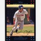 2007 Topps Baseball Red Back #413 Coco Crisp - Boston Red Sox