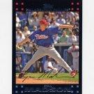 2007 Topps Baseball Red Back #406 Ryan Madson - Philadelphia Phillies