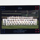 2007 Topps Baseball Red Back #347 The Chicago Cubs Team Photo