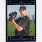 2007 Topps Baseball Red Back #334 A.J. Burnett - Toronto Blue Jays
