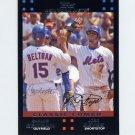 2007 Topps Baseball #656 Carlos Beltran / Jose Reyes - New York Mets
