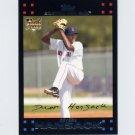 2007 Topps Baseball #646 Devern Hansack RC - Boston Red Sox