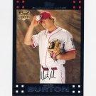 2007 Topps Baseball #644 Jared Burton RC - Cincinnati Reds