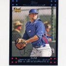 2007 Topps Baseball #567 Chris Stewart RC - Texas Rangers