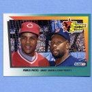 1992 Fleer Baseball #704 Barry Larkin / Kirby Puckett