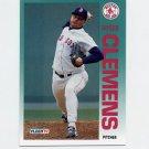 1992 Fleer Baseball #037 Roger Clemens - Boston Red Sox