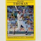 1991 Fleer Baseball #138 Frank Thomas - Chicago White Sox
