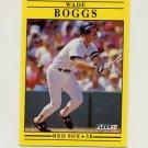 1991 Fleer Baseball #086 Wade Boggs - Boston Red Sox