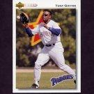 1992 Upper Deck Baseball #274 Tony Gwynn - San Diego Padres