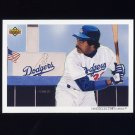 1992 Upper Deck Baseball #032 The Los Angeles Dodgers Team Checklist / Eddie Murray