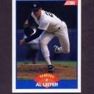 1989 Score Baseball #580 Al Leiter - New York Yankees