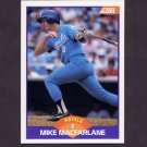 1989 Score Baseball #319 Mike Macfarlane RC - Kansas City Royals
