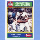 1990 Swell Greats Football #102 Gale Sayers - Chicago Bears