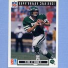 1991 Domino's Quarterbacks Football #19 Ken O'Brien - New York Jets