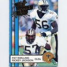 1990 Action Packed All-Madden Football #48 Pat Swilling / Rickey Jackson - New Orleans Saints