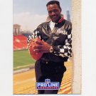 1991 Pro Line Portraits Football #215 Walter Payton RET - Chicago Bears