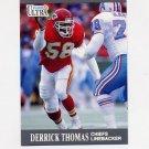 1991 Ultra Football #072 Derrick Thomas - Kansas City Chiefs