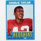 1971 Topps Football #026 Charlie Taylor - Washington Redskins