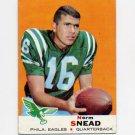 1969 Topps Football #085 Norm Snead - Philadelphia Eagles