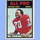 1974 Topps Football #135 Paul Smith AP - Denver Broncos