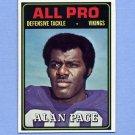 1974 Topps Football #134 Alan Page AP - Minnesota Vikings