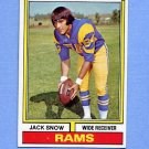 1974 Topps Football #083 Jack Snow - Los Angeles Rams ExMt
