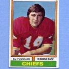 1974 Topps Football #007 Ed Podolak - Kansas City Chiefs