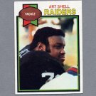 1979 Topps Football #210 Art Shell - Oakland Raiders ExMt
