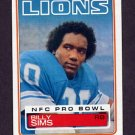 1983 Topps Football #070 Billy Sims - Detroit Lions