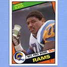 1984 Topps Football #286 Jackie Slater RC - Los Angeles Rams