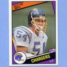 1984 Topps Football #184 Billy Ray Smith RC - San Diego Chargers