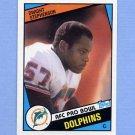 1984 Topps Football #129 Dwight Stephenson RC - Miami Dolphins