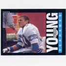 1985 Topps Football #393 Fredd Young RC - Seattle Seahawks