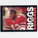 1985 Topps Football #019 Gerald Riggs - Atlanta Falcons